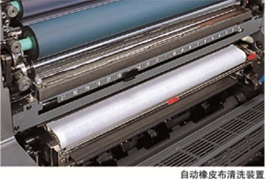 日本进口良明(利优比)680四开四色高速印刷机
